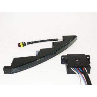 Tagfahrleuchte Slim Line 500 chrome + black