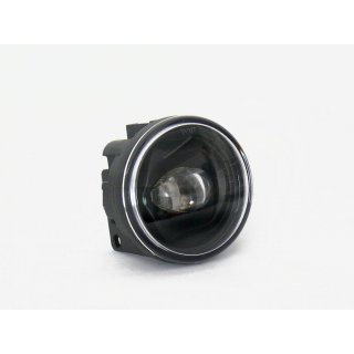 Tagfahrleuchte LED 70mm rund chrome + black